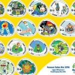"""""""Nossos Selos Rio 2016"""" Jogos Olímpicos e Paralímpicos"""
