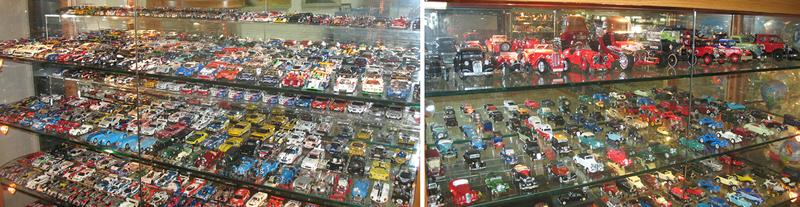 Coleção muito grande: Como organizar uma coleção de veículos em miniatura?