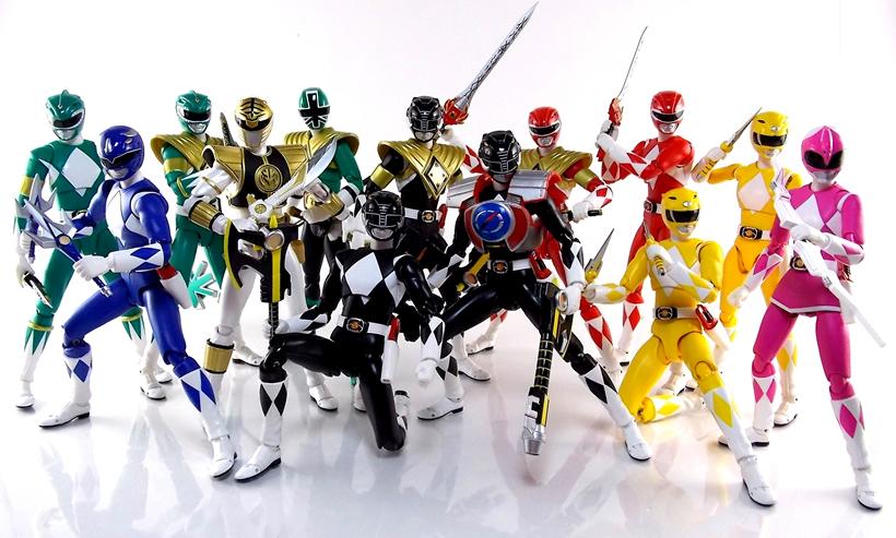 Bandai - SH Figuarts - Alguns actions figures Power Rangers