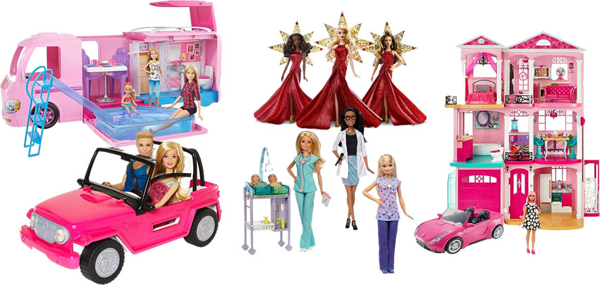 Mattel - Barbie - Alguns produtos