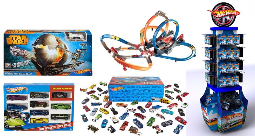 Mattel - Hot Wheels - Alguns produtos