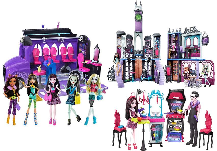 Mattel - Monster High - Alguns produtos