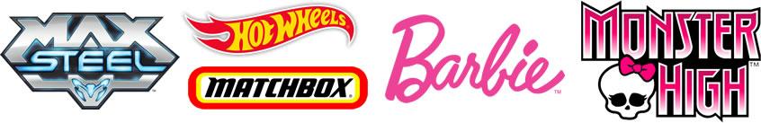 Mattel - Principais marcas