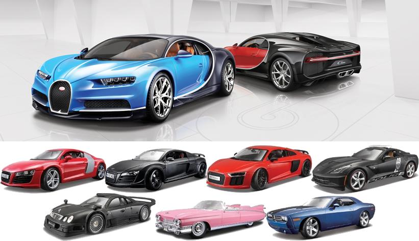 Alguns modelos carros - Maisto e Bburago