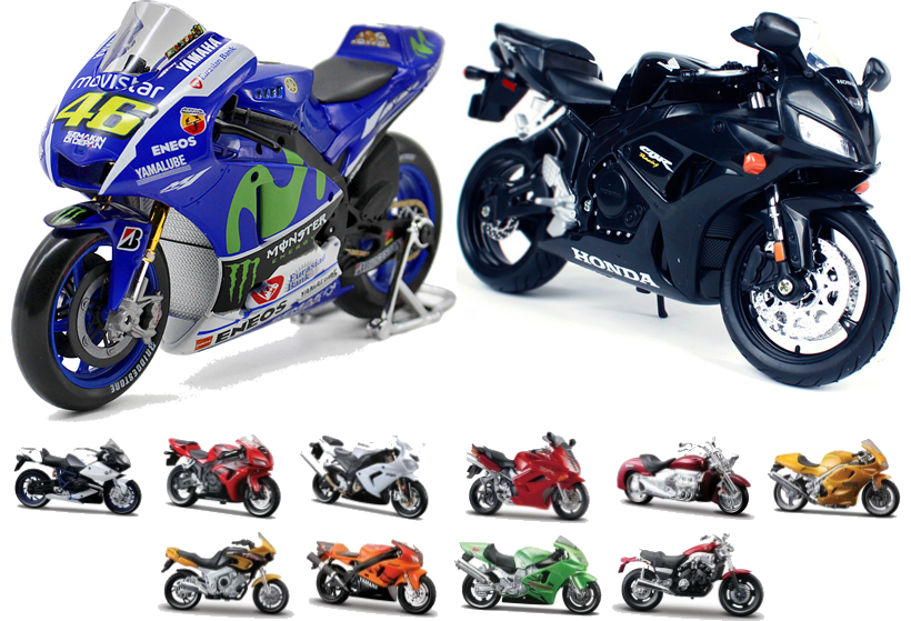 Alguns modelos motos - Maisto