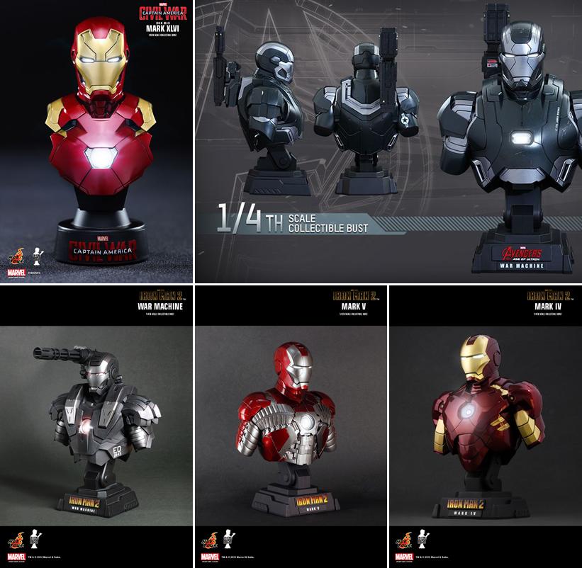 Hot Toys - Bustos Ironman
